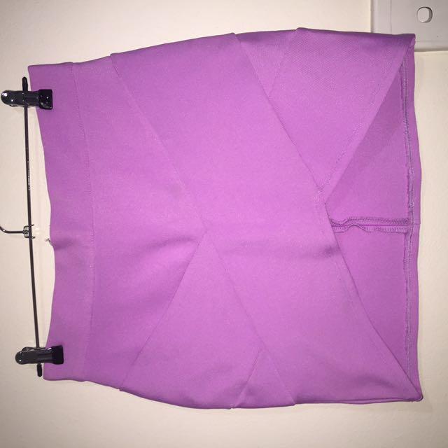 Pink Bandage Skirt (Size 12)