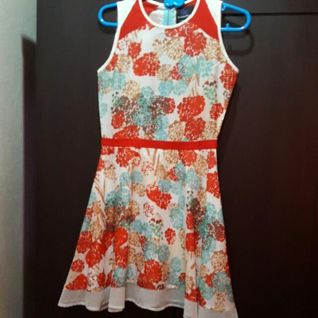 Plains & Prints Floral Dress