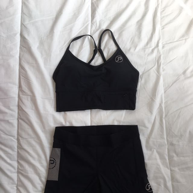 PocJox Crop Top & Shorts