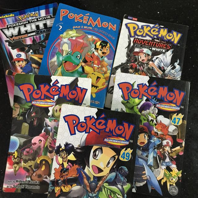 Pokemon 8books For 500 Only