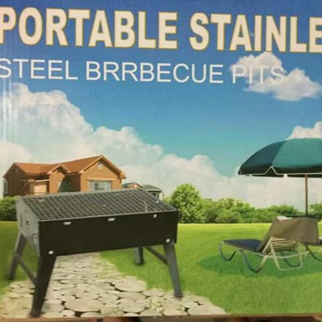 Portable Stainless Bbq Steel Pits