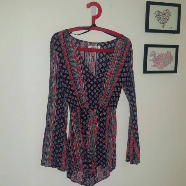 Quirky Circus Size 8 Playsuit