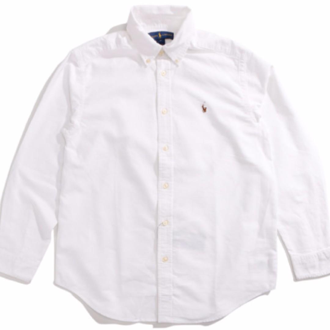 Ralph Lauren Polo 衫 大童 經典 新款小馬 刺繡 襯衫 美國公司貨 全新正品
