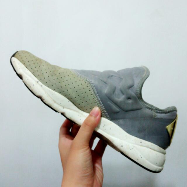 reebok furylite slip on灰金潑墨懶人鞋v69632