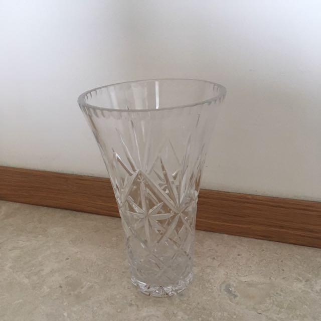 Royal Doulton Crystal Vase Furniture Home Decor On Carousell