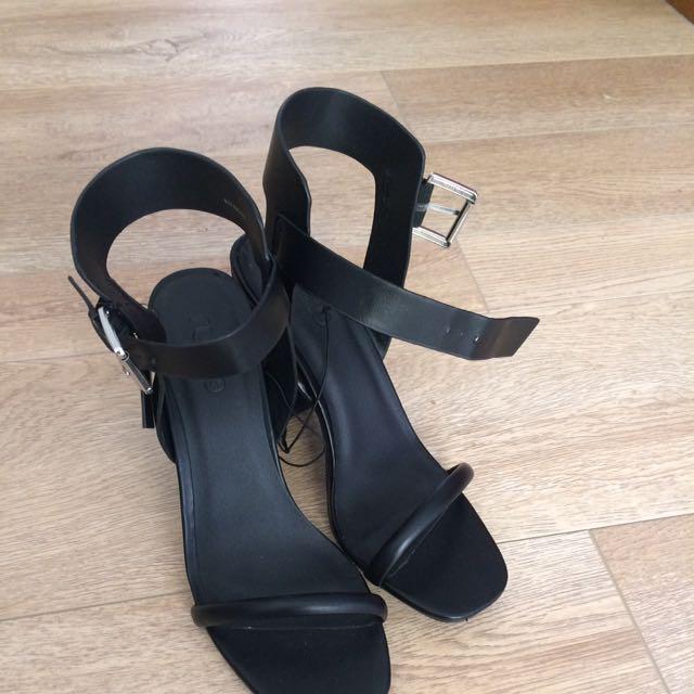 Rubi Black Heels