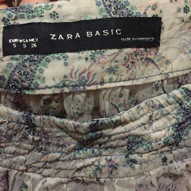 See Through Zara Basic
