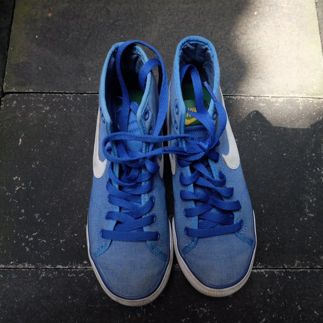 Sepatu Nike Mid Blue