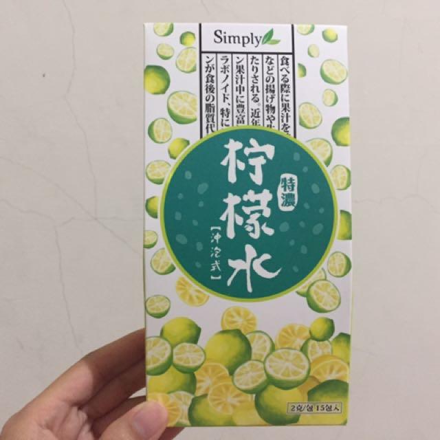 Simply 特濃檸檬水