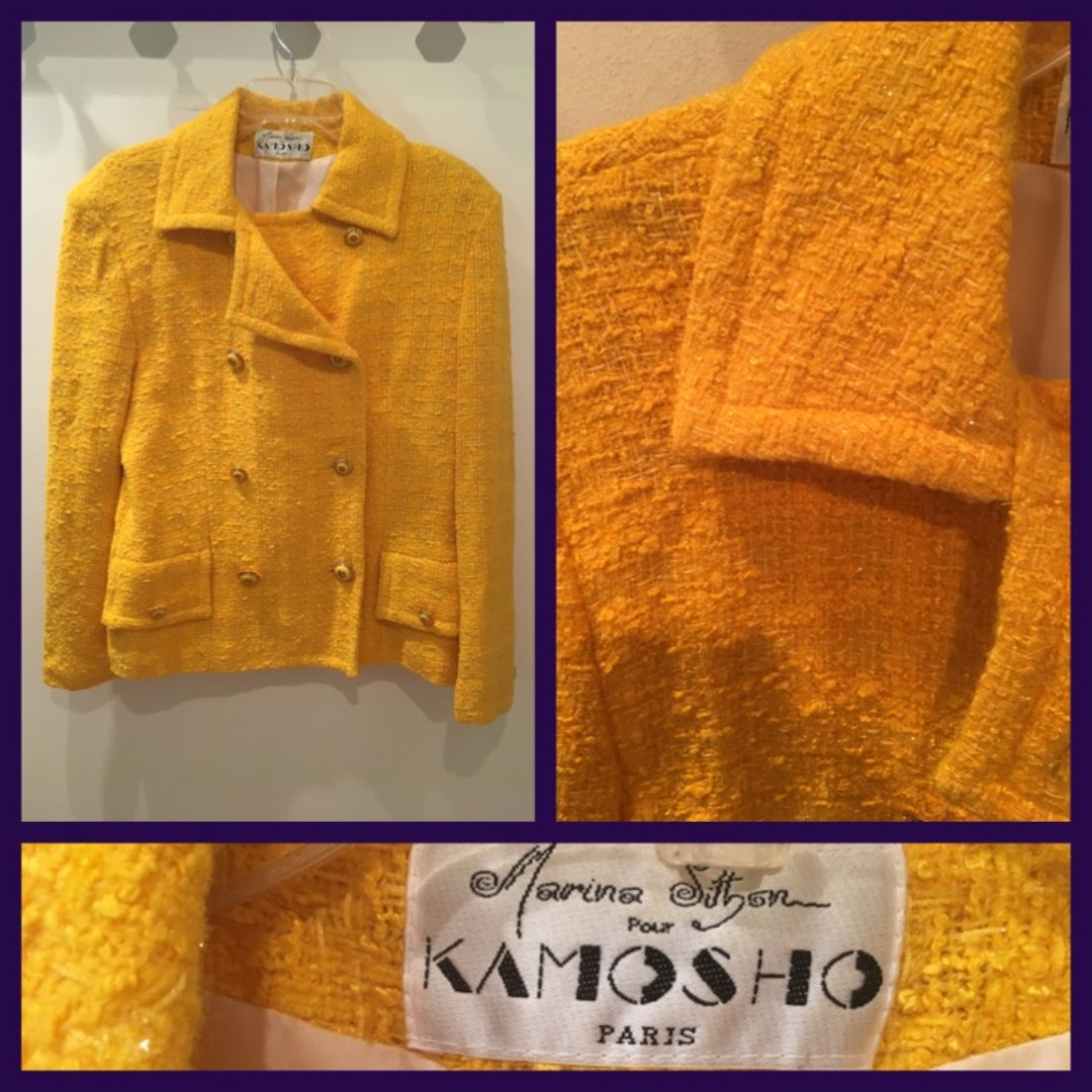 Size M - Marina Sitbon for Kamosho Paris - Blazer/Jacket