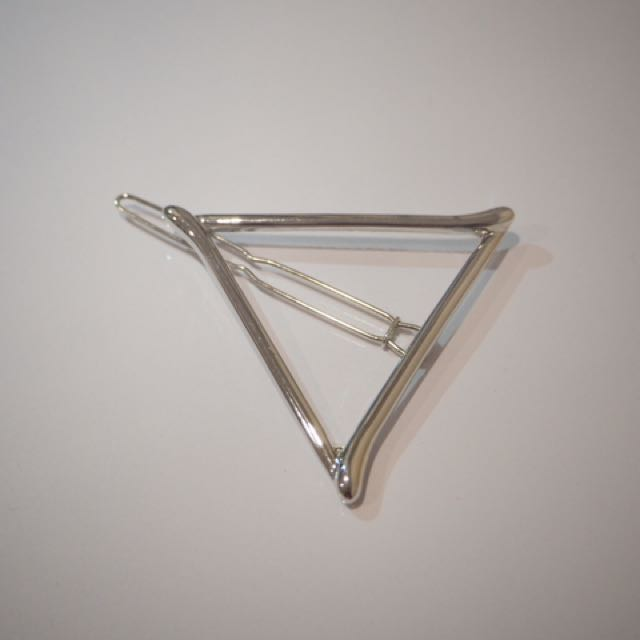 Sliver Triangle Hair Pin
