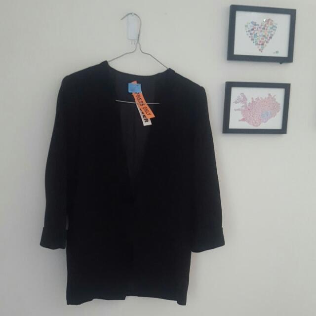 Sportsgirl Size 12 Black Blazer