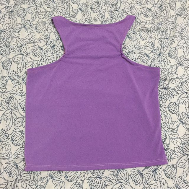 Stretchy Purple Top