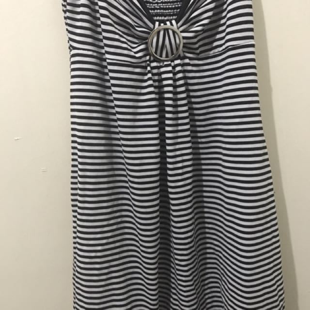 Summer Dress In Stripes