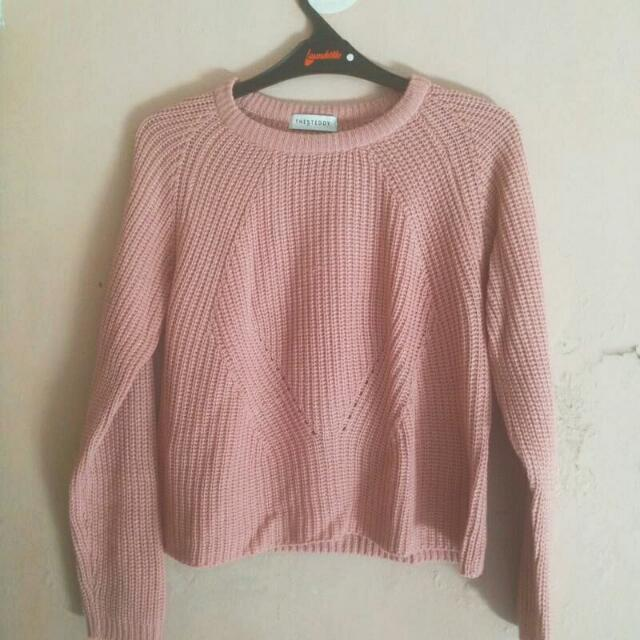 SWEATER THE STEDDY (BABY PINK)