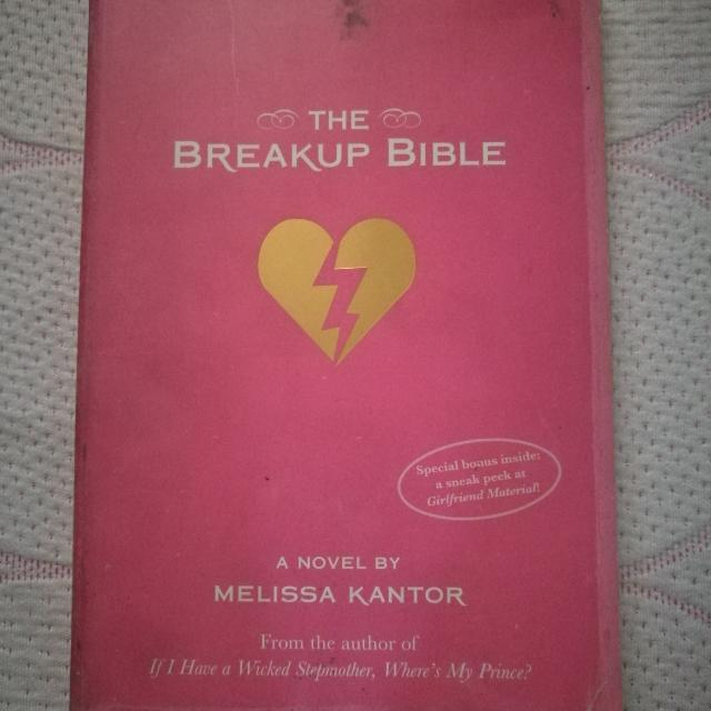 The Breakup Bible By Melissa Kantor