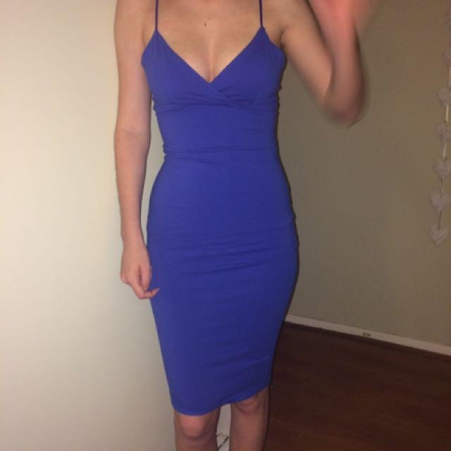 Tight Blue Dress
