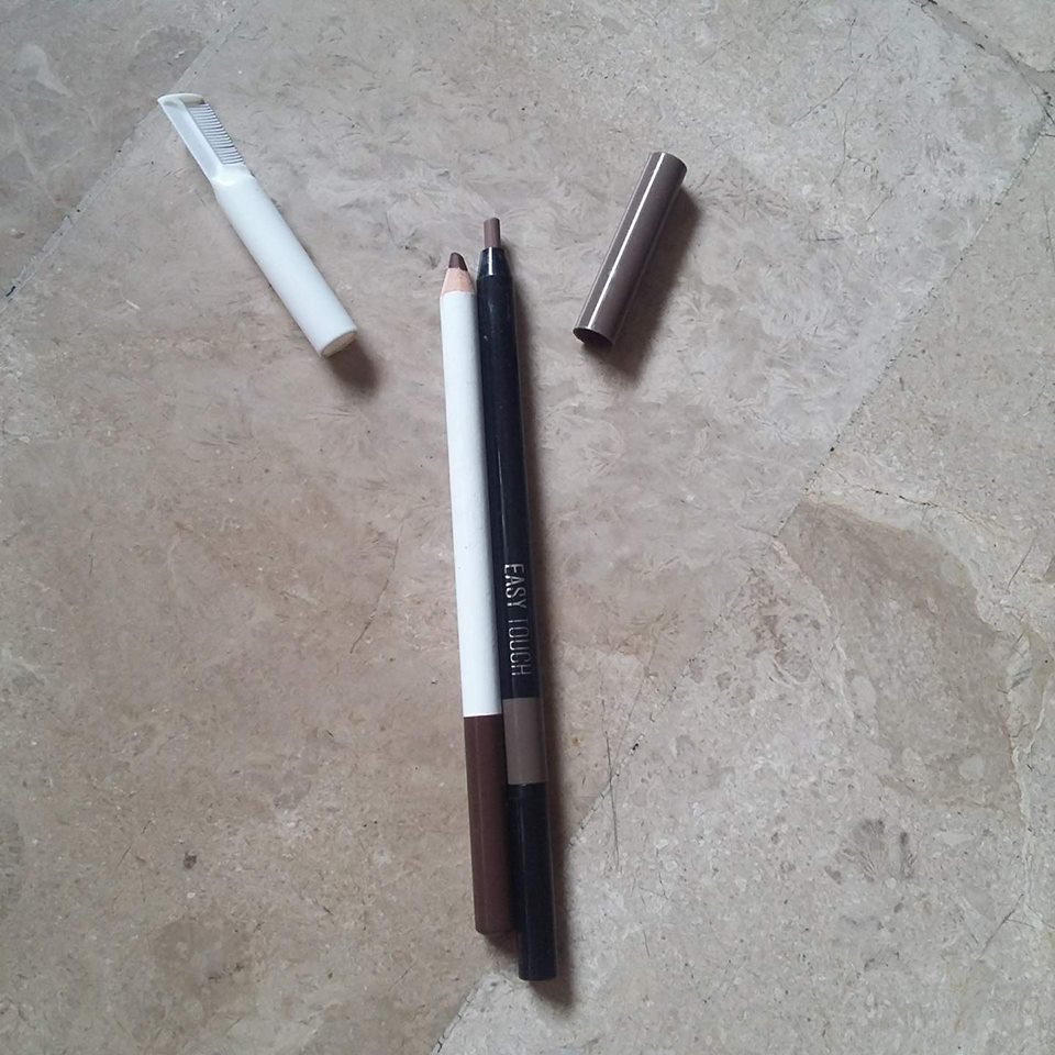 Tony Moly EASYTOUCH Eyebrow pencil & EB Advance Perfect Eyebrow