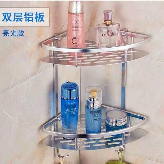 Triangle Bathroom Shelf Stainless