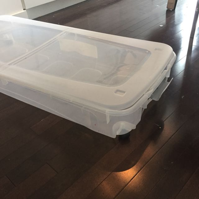 Under Bed Rolling Storage Container