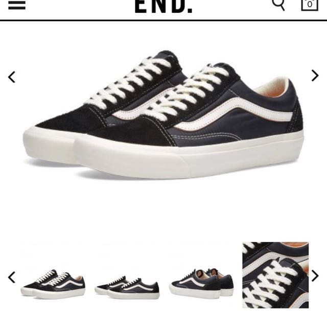 21034ce5 VANS VAULT X OUR LEGACY OLD SKOOL PRO '92 LX, Men's Fashion, Men's Footwear  on Carousell