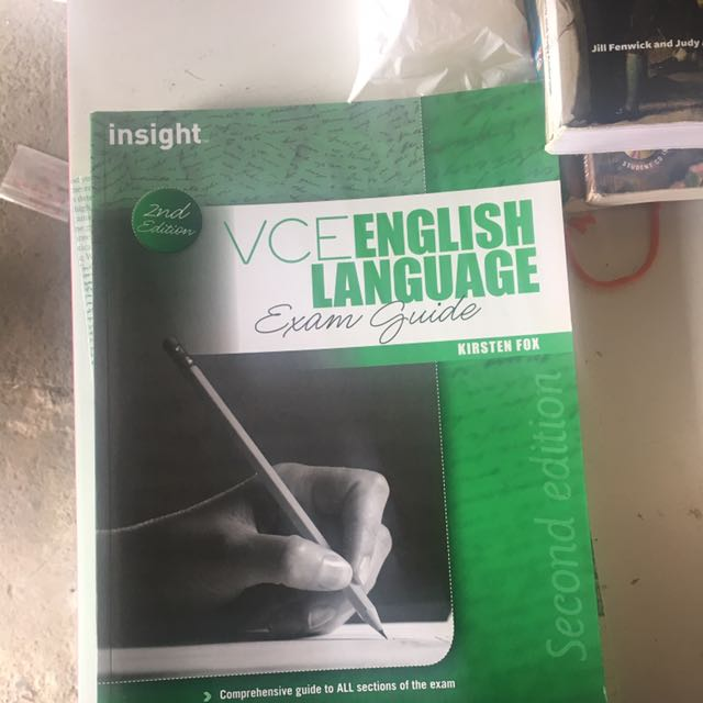 VCE English Language Guide