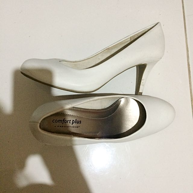 Payless: White Shoes