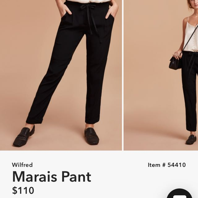 Wilfred Marais Pant Brand New Condition XS