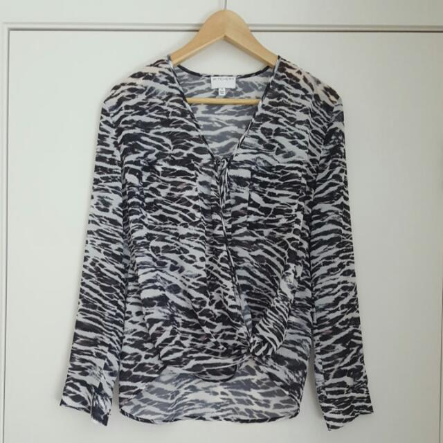 Witchery Blouse - Size 6