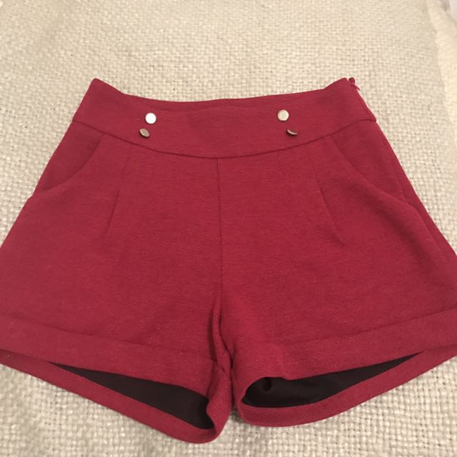 Women's TEMT Size M High Waisted Dress Shorts