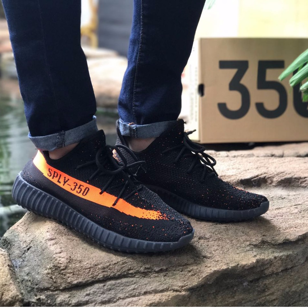0721d181e Yeezy boost 350 black orange