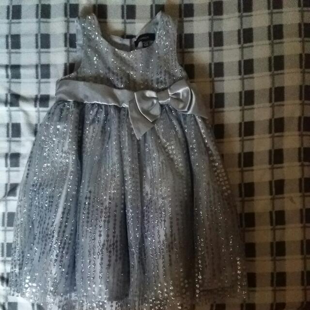 Zunie Silver Gown