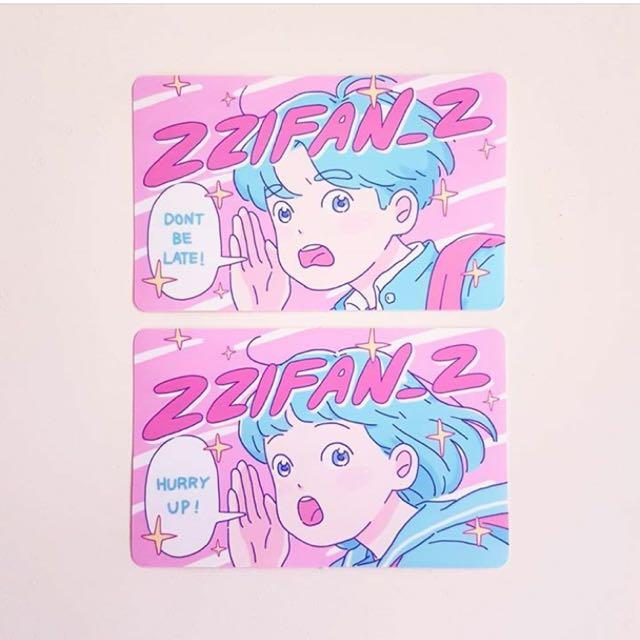 徵:zzifan 悠遊卡貼