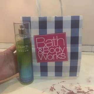 Bath & Body Works Tahiti Island Dream Fine Fragrance Mist