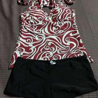Coco Cabana Red Swimwear