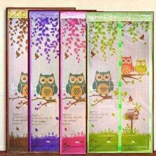Tirai Pintu Magnet Anti Nyamuk OWL BURUNG HANTU