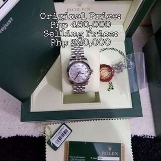 Authentic Rolex Watches For Women