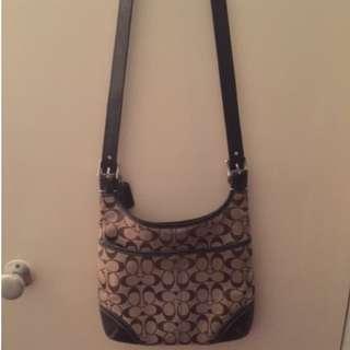 PRICE DROP!! Authentic coach cross body purse