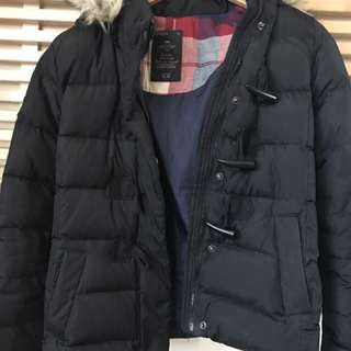 Gap Down Hooded Jacket