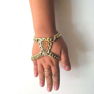sass & bide Early Bird Gold Chain Bracelet