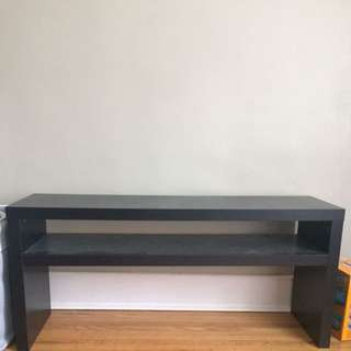 Black TV table