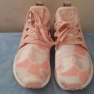 Authentic NMD XR1 Duck Camo Pink