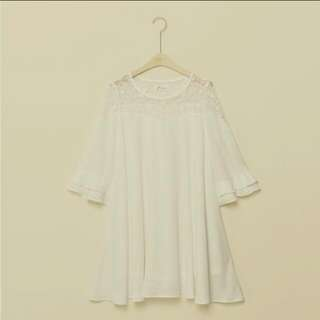 Pazzo 雪紡 蕾絲洋裝