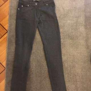 Charcoal Grey Pants Jeans