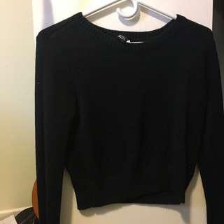XS Black Knit H&M Sweater