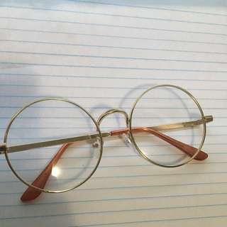 Fashion Circle Glasses