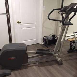 ProForm Elliptical machine - all digital & Northern Lights Home gym & Voyager Stationary bike