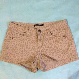 Leopard Sexy Shorts