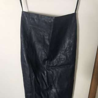 Shieke Leather Skirt