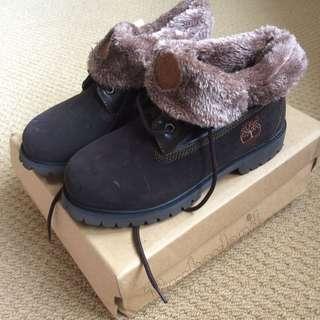 Womens' Timberlands Waterproof Brown Boots